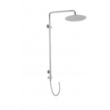 Sprchová tyč sestavy pro dolní vývod  s SH 04