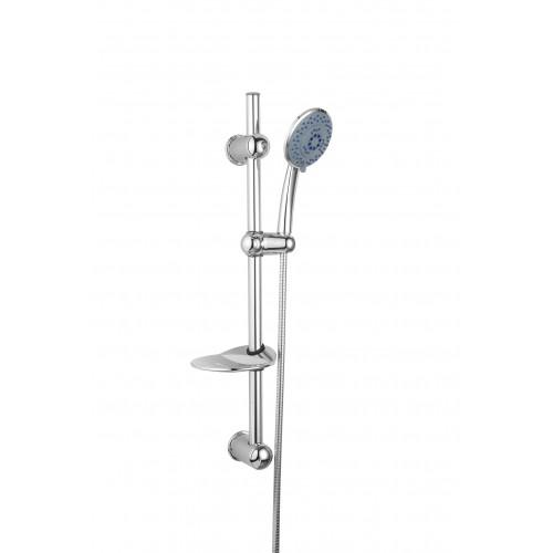 Sprchová tyč s nastavitelnou roztečí s příslušenstvím